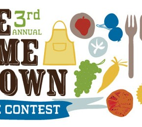 Announcing the 3rd Annual HOMEGROWN RECIPE CONTEST!!