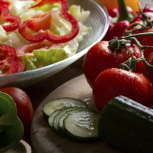 Salad and Tomatoes