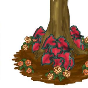 Round Tree Bed Garden